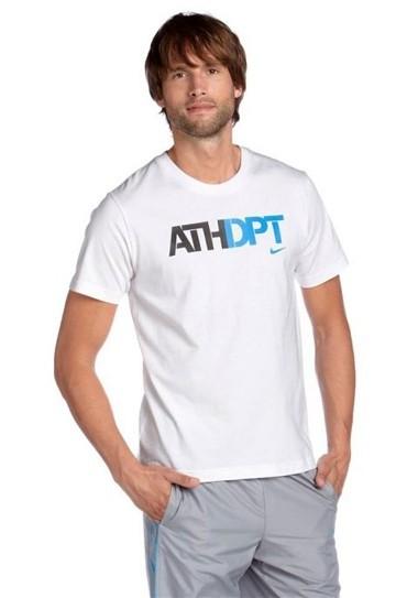 Shirt, weiß-bunt von NIKE