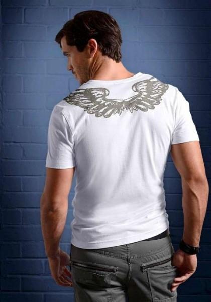 Shirt, weiß von Bruno Banani
