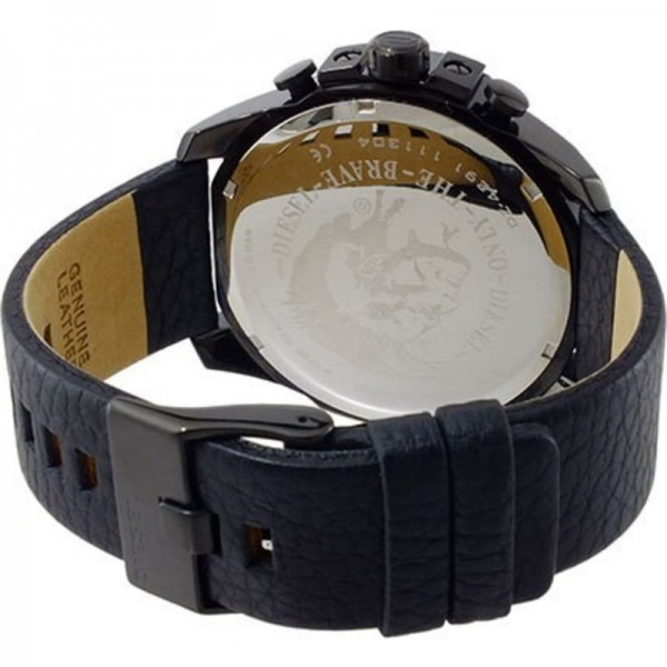Diesel Herren Armbanduhr XL Mega Chief Chronograph DZ4291