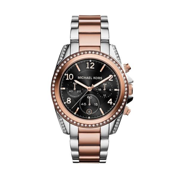 Michael Kors Damen Armbanduhr Chronograph MK6093
