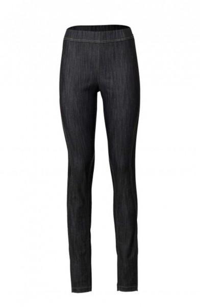 Jeansleggings, schwarz von Linea Tesini