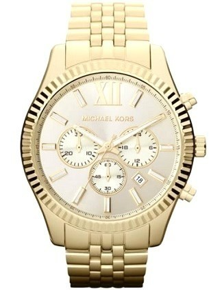 Michael Kors MK8281 Herren-Armbanduhr XL Lexington Chronograph