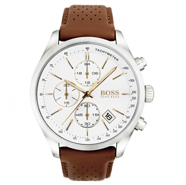 Hugo Boss Herrenuhr 1513475 GRANDPRIX Chronograph