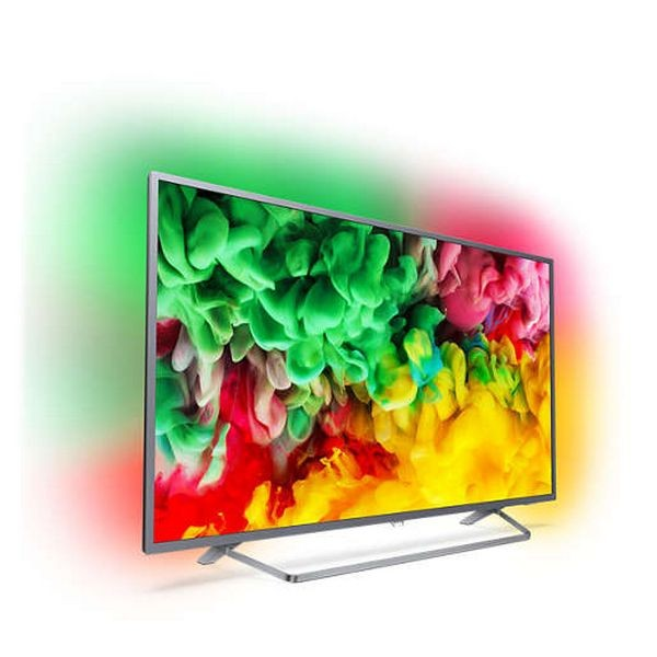 "Smart TV Philips 43PUS6753 43"" 4K Ultra HD Silberfarben"