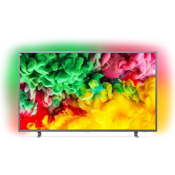 Smart TV Philips 4K 50 Zoll Ultra HD LED WIFI HDR Silber (B Ware)