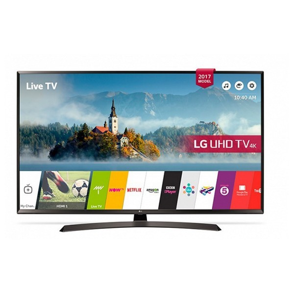 "Smart TV LG 49UJ634V 49"" Ultra HD 4K LED USB x 2 HDR Wifi Schwarz"