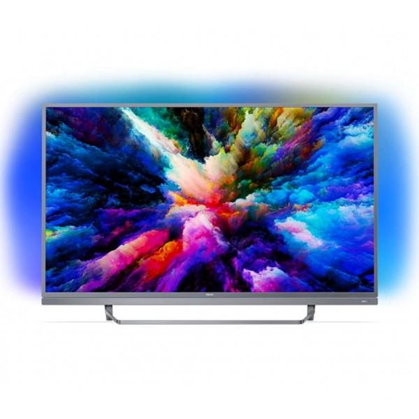 "Smart TV Philips 55PUS7503 55"" Ultra HD 4K WIFI HDR Silber"