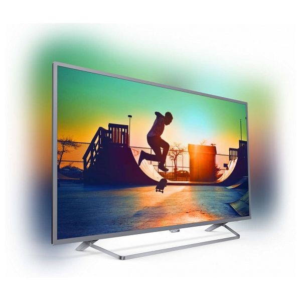 "Smart TV Philips 50PUS6272/12 50"" Ultra HD 4K LED WIFI Silber"