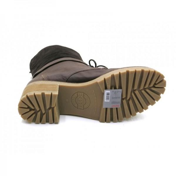 ESPRIT Cristal Buckle Boot X05591 Leder Stiefel