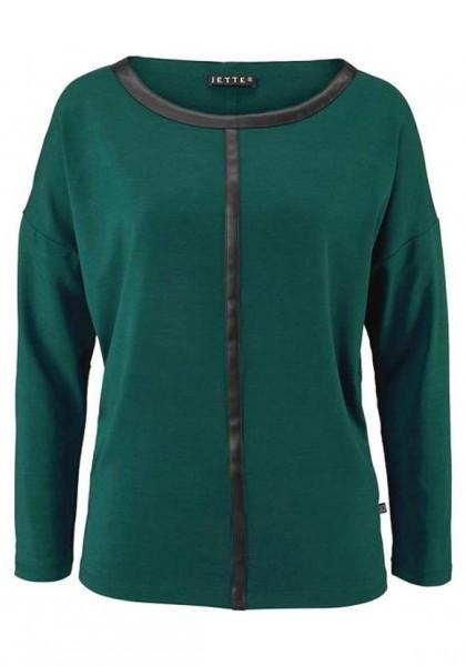 Shirt, smaragd-schwarz von Jette Joop