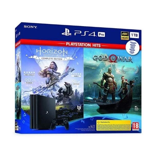 Play Station 4 Pro + God of War + Horizon Z Sony 1 TB