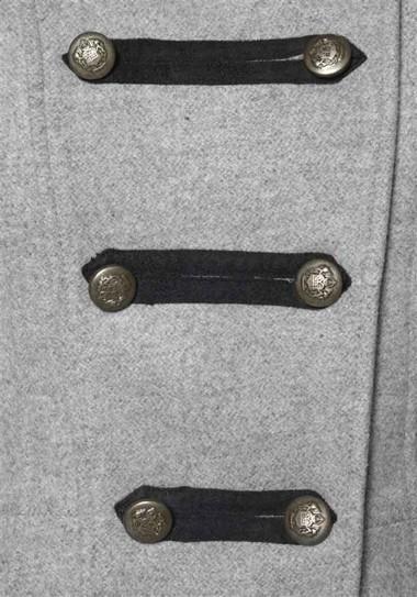 Woll-Kurzmantel, grau von Vivien Caron