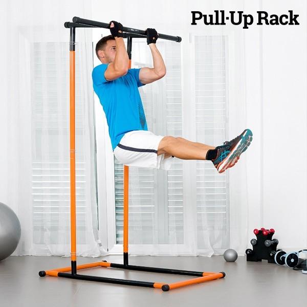 Pull-Up Rack Klimmzug und Fitness Station mit Übungshandbuch