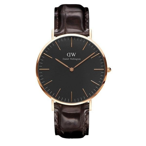 Daniel Wellington Classic Black Herrenuhr DW00100128