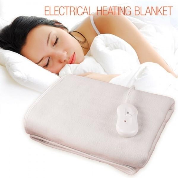 Elektrische Heizdecke Wärmedecke 150 X 80 CM