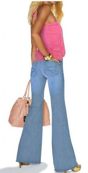Jeans hellblau von APART
