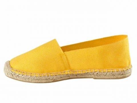 Espandrilles, gelb