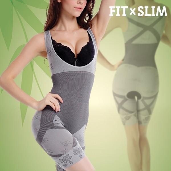 Bamboo Shapewear Unibody figurformendes Korsett mit Bauch Weg Effekt Gr. M