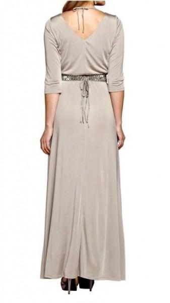 Abend-Jerseykleid, taupe von APART