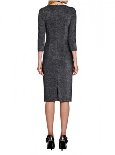 Jersey-Abendkleid, antiksilber von APART
