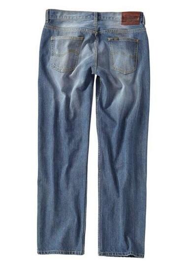 Jeans, mid stone von LEE