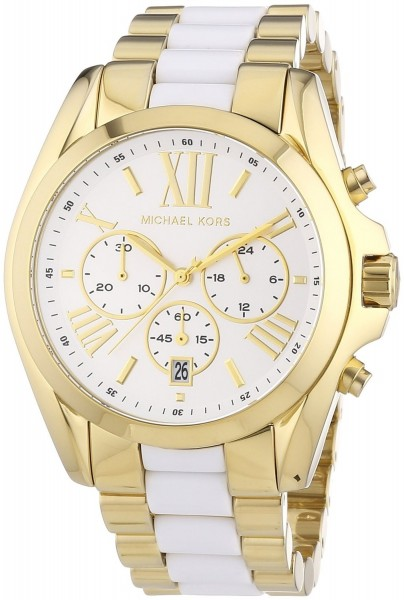 Michael Kors Damen-Armbanduhr XL Chronograph MK5743