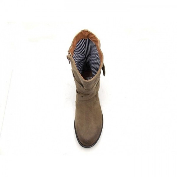 IN SHOES - Stiefelette - 20313 Taupe Wildleder