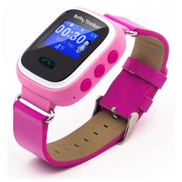 Smartwatch für Kinder Overnis 221915 GPS GSM Tracking USB 5 V Rosa