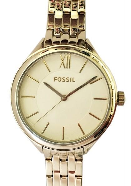 FOSSIL BQ3050 Damenuhr Fabe Gold