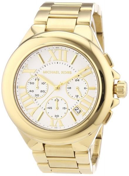 Michael Kors Camille Damen-Armbanduhr XL Chronograph MK5635