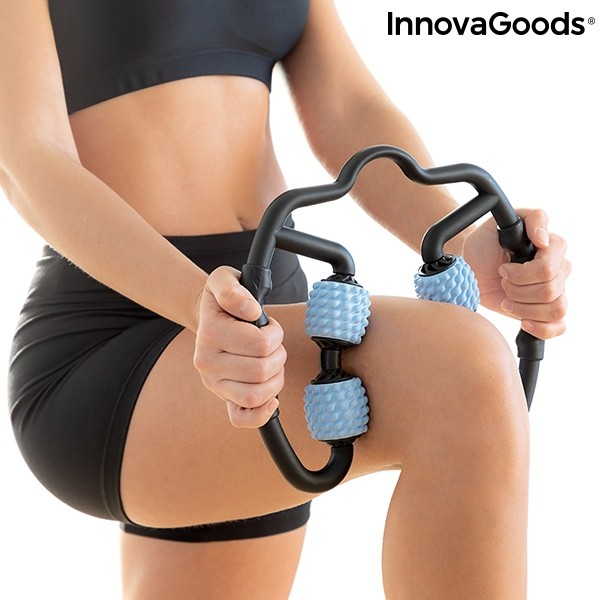 Muskel Selbstmassagegerät mit Rollen Rolax InnovaGoods